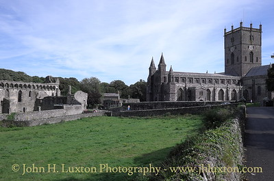 St. David's Cathedral, St. David's, Pembrokeshire - August 23, 2016