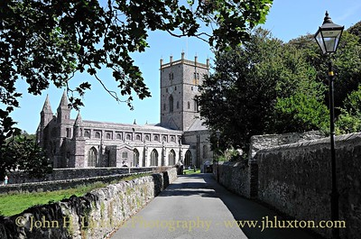 St. David's Cathedral, St. David's, Pembrokeshire - August 12, 2015