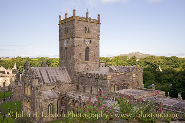 St. David's Cathedral, St. David's, Pembrokeshire - August 15, 2017