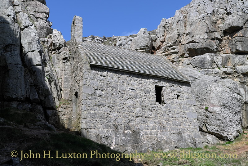 St Govan's Chapel, Bosherston, Pembrokeshire - April 14, 2014