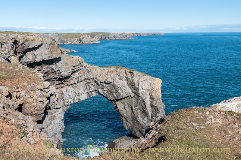 Stack Rocks & The Green Bridge of Wales - July 10, 2021