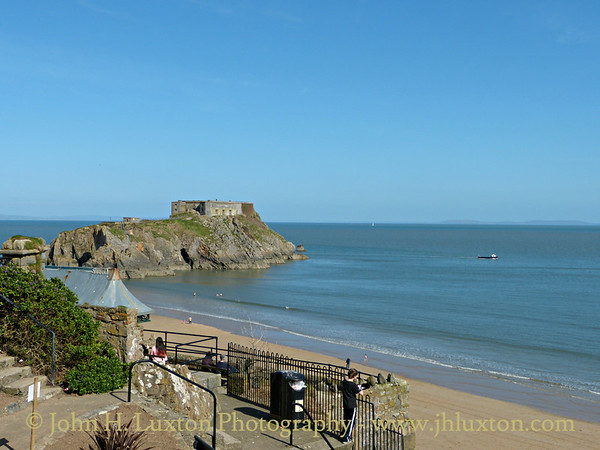 Tenby, Pembrokeshire, Wales - April 14, 2014