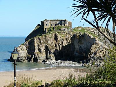 Tenby, Pembrokeshire, Wales - April 14, 2014