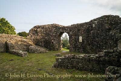 Wiston Castle, Wiston, Pembrokeshire, Wales -  August 28, 2018