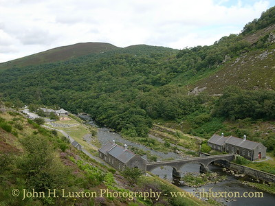 Caban Coch Dam, Elan Valley, Powys, Wales - August 03, 2005