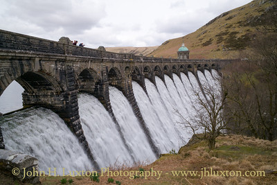 Craig Goch Dam, Elan Valley, Powys, Wales - April 01, 2018
