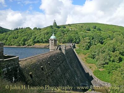 Pen y Garreg Dam, Elan Valley, Powys, Wales - August 03, 2005