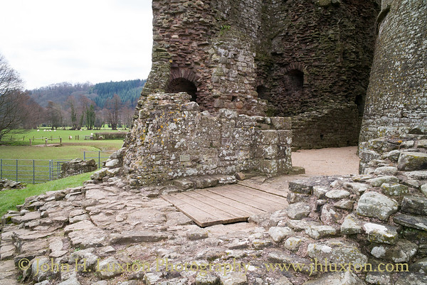 Tretower Court and Castle, Tretower, Powys, Wales - April 01, 2018