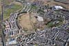Merthyr Tydfil in South Wales from the air.