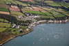 Aerial photo of Hazelbeach and LLanstadwell in South Wales.