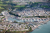 Milford Haven from the air.