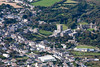 St. David's in South Wales from the air.