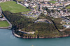 Hubberstone Fort in Milford Haven from the air.