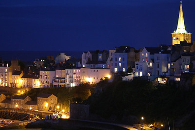 tenby church night