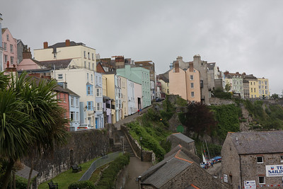 Tenby under grey skies