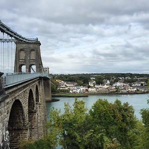 Wales - Menai Bridge