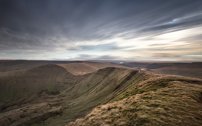 Brecon Beacons long exposure