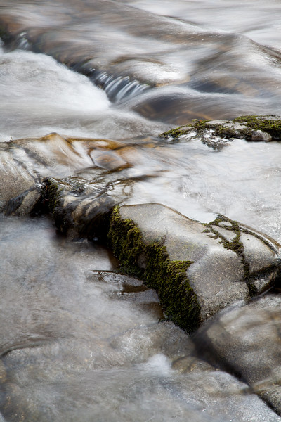 Detail shot along the Afon Mellte River in South Wales