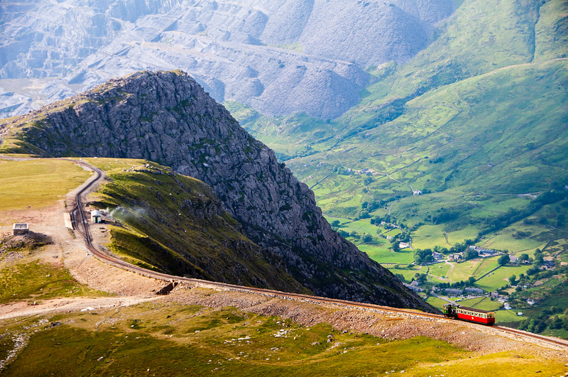Snowdon Mountain Railway train