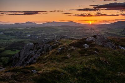 Sunset on the Lleyn Peninsula