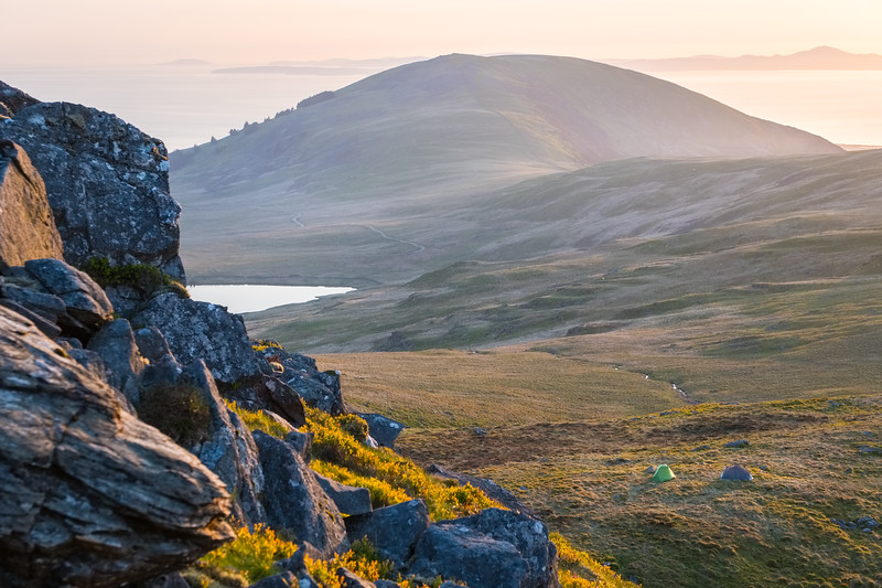 Camping in the Rhinogs