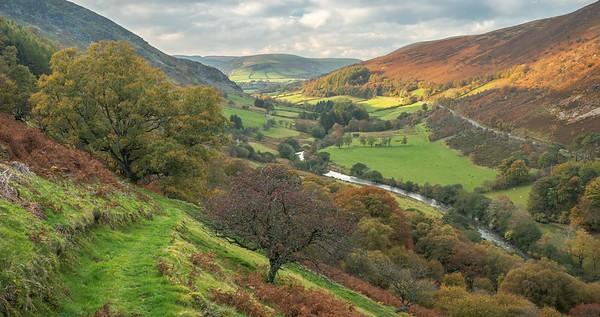 Wye Valley from Nannerth Fawr