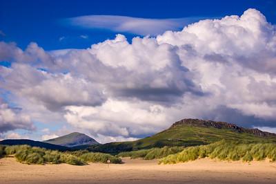Sand dunes at Black Rock Sands