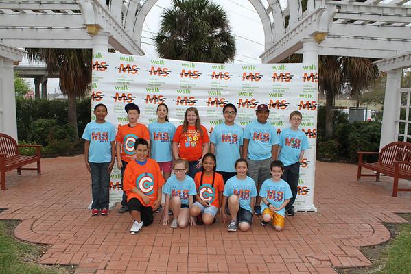 2013 Walk MS Corpus Christi Team Photos