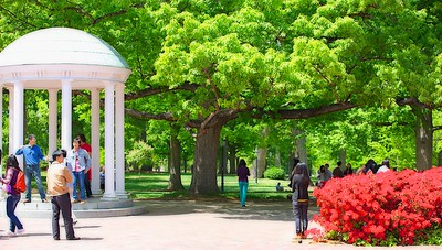 UNC campus - The Old Well