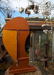 Mike Roig studio in Carrboro