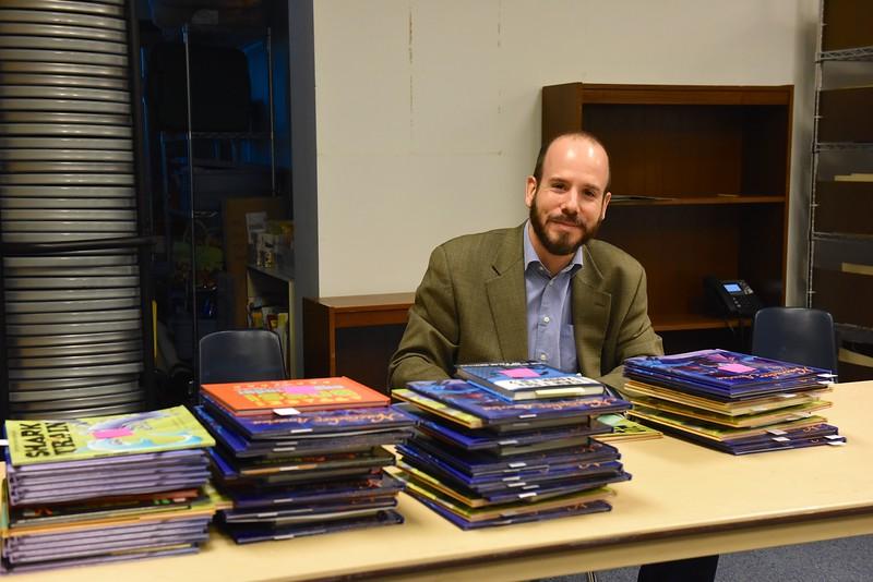 LS Author Visit - Chris Barton: December 8