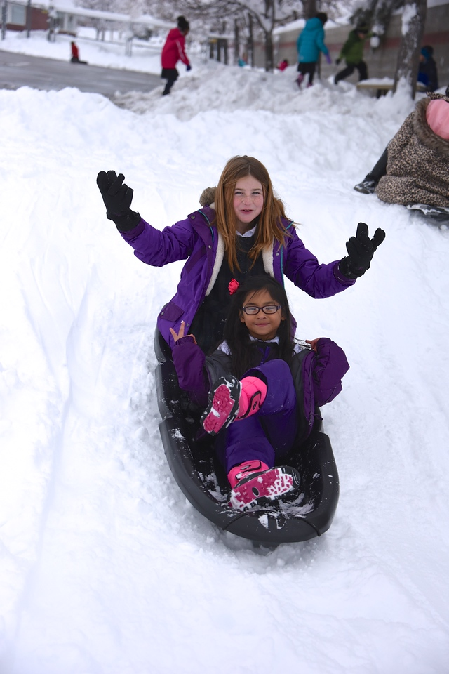 LS Playing in Snow: December 15