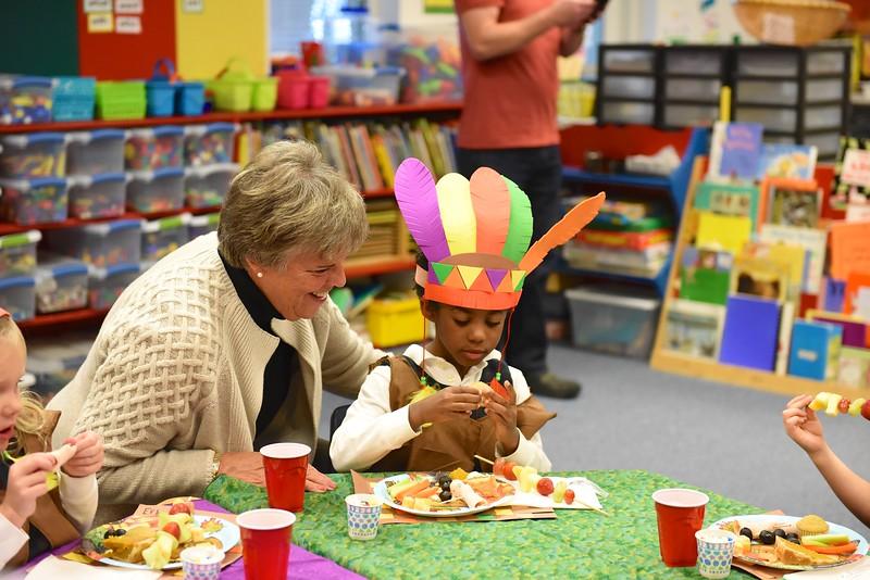 LS Kindergarten Thanksgiving Feast: November 20