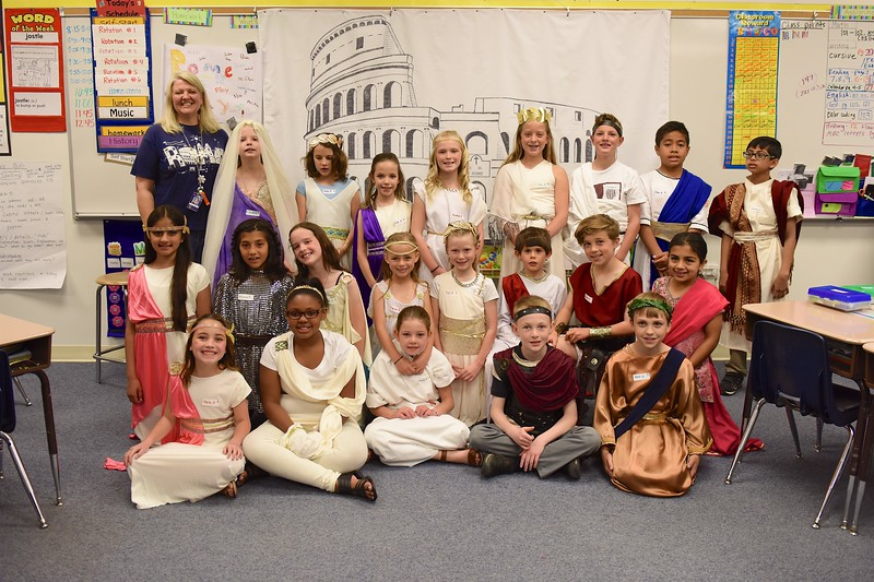 Class III Rome Day: May 9