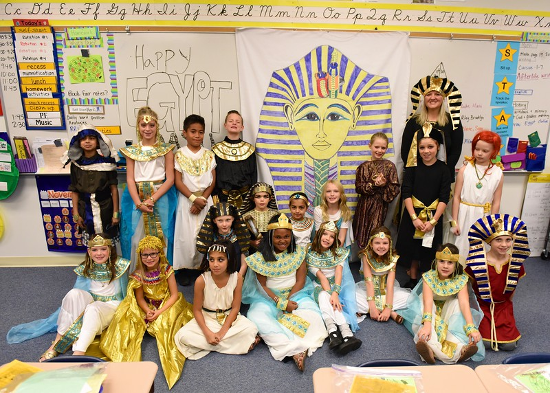 Class III Egypt Day: November 18