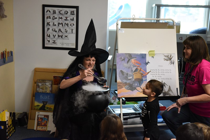 Fly Fly Witchy PreK-3&4: October 31