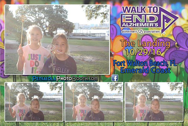 Walk to End Alzheimers Ft. Walton 10-29-2016