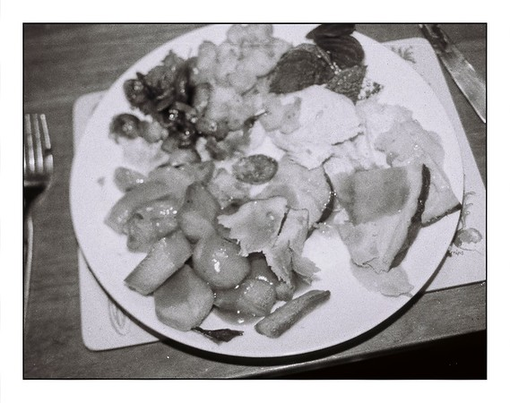 Thanksgiving 2020 in Orca B&W 110