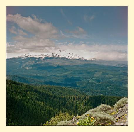 Lubitel 166 - Kodak 120 Porta 400 - On Shellrock Mt.