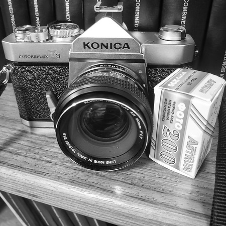 Konica T3 with Astrum 200