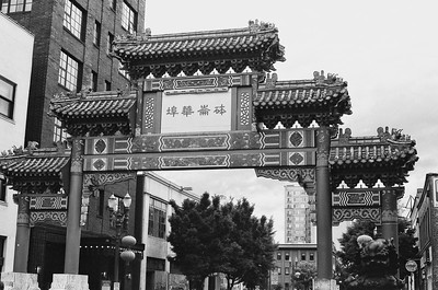 PDX Mostly China Town  - 2021/06/10 | Olympus OM2 | JCH Street Pan 400
