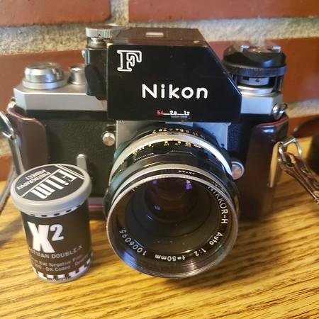 Nikon F & Double X