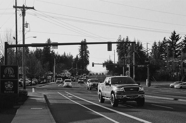 Sandy Oregon | 2021/03/11 | Nikon F | Kodk TriX 400