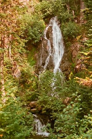 Sahale Falls, Clark Creek - Meadows Loop 2021/08/15 | Olympus OM2 | Silberra 100