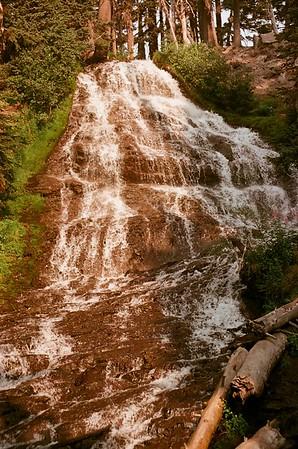 Umbrella Falls, Clark Creek - Meadows Loop 2021/08/15 | Olympus OM2 | Silberra 100