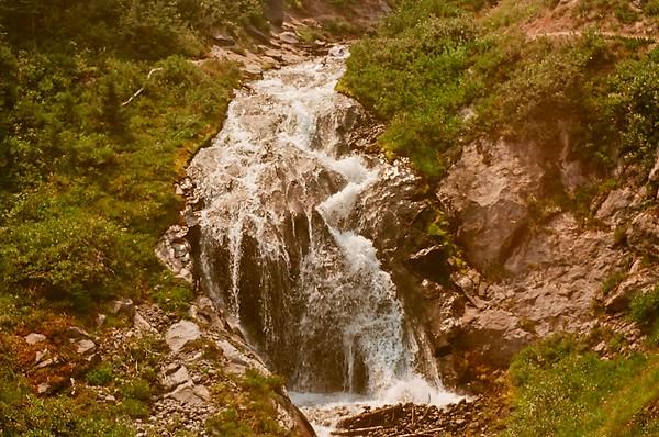 Heather Canyon Falls, Clark Creek - Meadows Loop 2021/08/15 | Olympus OM2 | Silberra 100