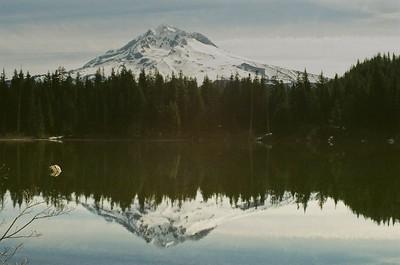 Mt Hood & Burnt Lake