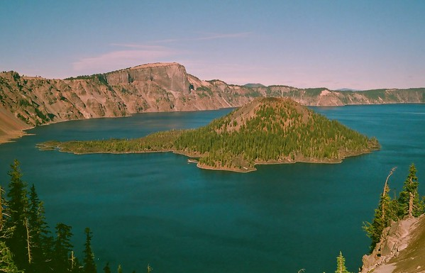 Crater Lake - Canonet GIII - Agfa HDC 400 - 2020/10/16