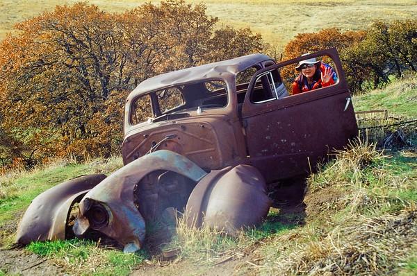 The Crawford Ranch, Columbia Hills | Olympus OM10 | Kodak Elite Chrome 100 |