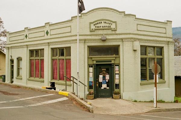 Mosier Valley Post Office.